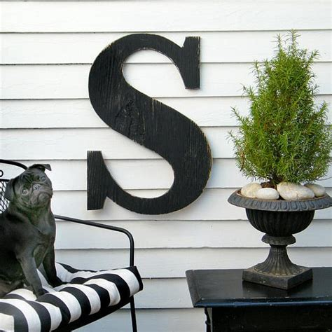 letter s home decor 24 extra large letter wall decor wooden letter big