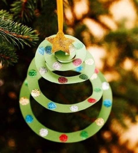 homemade christmas tree decorations 50 diy paper christmas ornaments to create with the kids