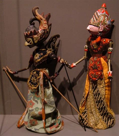 Boneka Wisuda Bandung City West Java wayang golek traditional show of west java