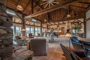 pole barn home interior beautiful barn home with large glasswall barns as homes