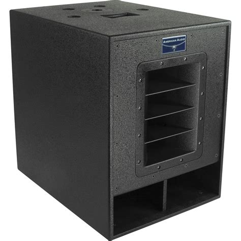 Speaker Subwoofer American American Audio Pxw 15p 15 Quot Powered Subwoofer Pxw 15p B H