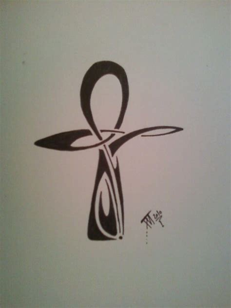 ankh tattoo by forgivenfallenangel on deviantart