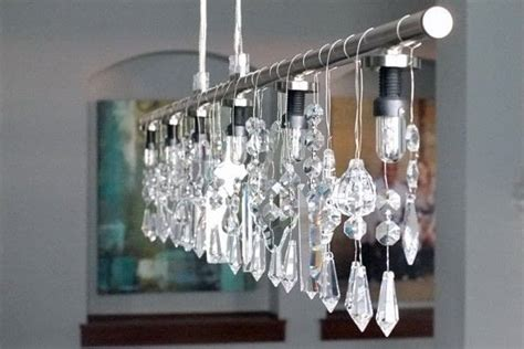 diy chandelier projects linear chandelier 183 how to make a hanging light 183 decorating on cut out keep