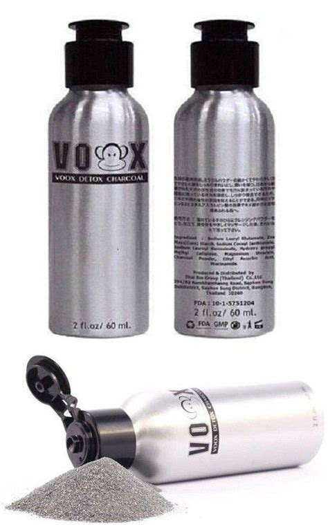 Charcoal As A Detoxer by Voox Detox Charcoal Thailand Best Selling Products