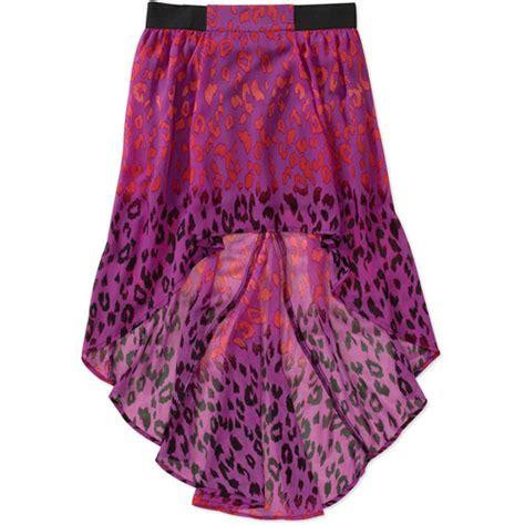 no boundaries juniors hi low exposed elastic skirt