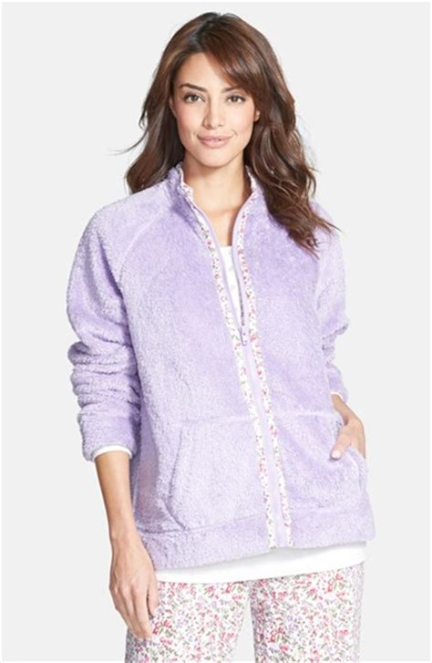 carole hochman designs fleece bed jacket nordstrom
