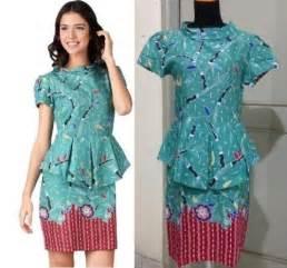 Model baju batik masakini trend 2015 batik assidiq holiday and