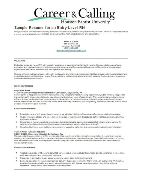 scrub nurse sample resume recent graduate cover letter sample resume