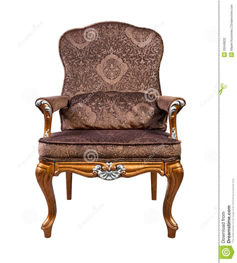 retro style armchair retro style armchair isolated stock photography image