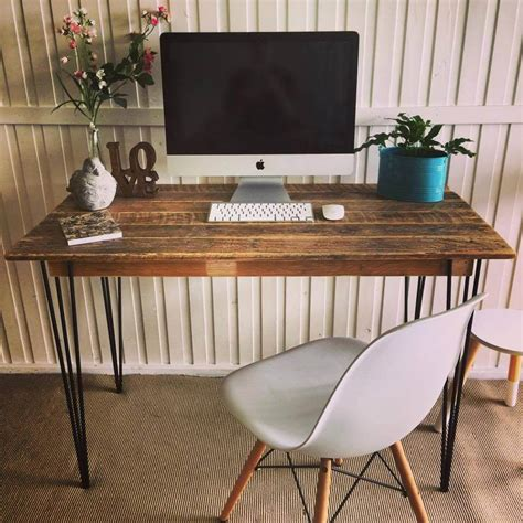 125 Awesome Diy Pallet Furniture Ideas Diy Metal Desk