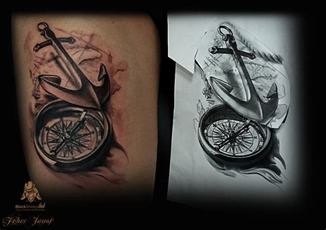 compass tattoo best images collections hd for gadget
