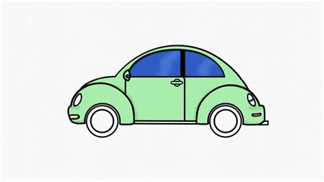 punch buggy car drawing how to draw volkswagen beetle 1 draw vw by