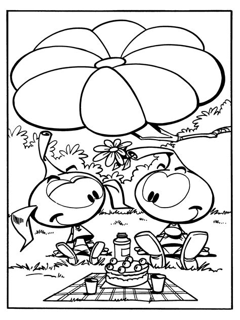 coloring book pages from pictures snorks coloring pages coloringpages1001