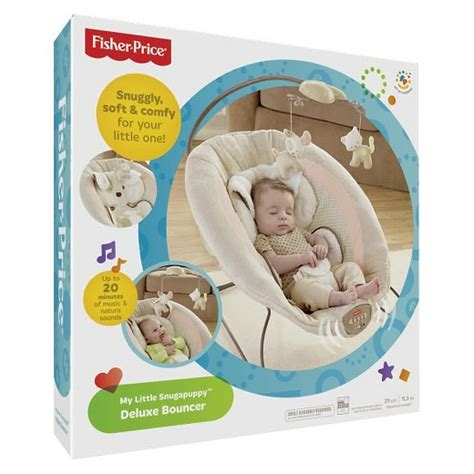 fisher price puppy bouncer fisher price deluxe bouncer my snugapuppy target