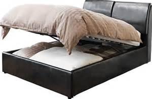 argos ottoman storage beds hygena vince kingsize ottoman bed frame black