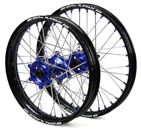 smp motocross gear wheel set sm pro platinum rim sm pro hub anodized