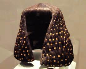 information on egyptain hairstlyes for and egyptian royal wig metropolitan museum of art flickr