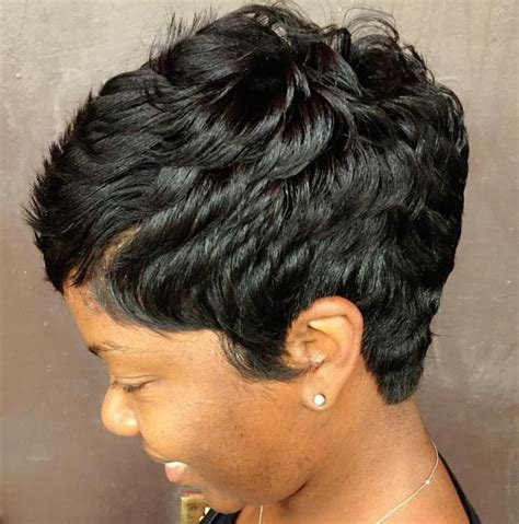 short hairstyles with feathered sides 1000 ideas about black pixie haircut on pinterest pixie