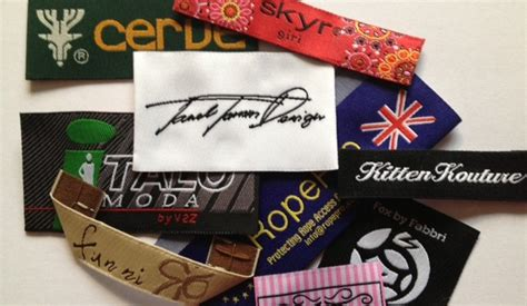 design clothes labels online high definition woven garment labels affordable top
