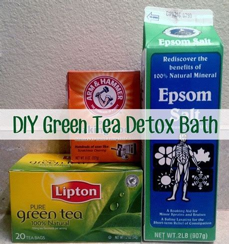 Can You Drink Epsom Salts To Detox by Top 7 Diy Detox Bath Recipes To Per Your