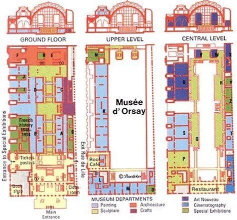 Musee D Orsay Floor Plan | musee d orsay musee d orsay paris