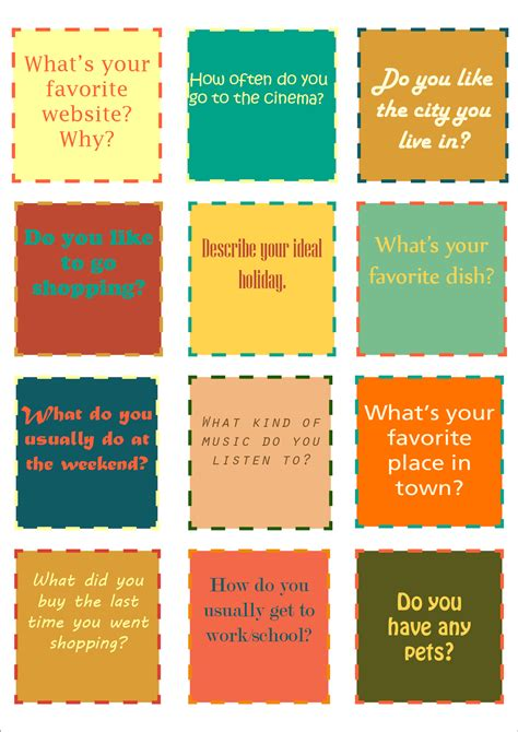 What Is A Gift Card - conversation cards the handouts