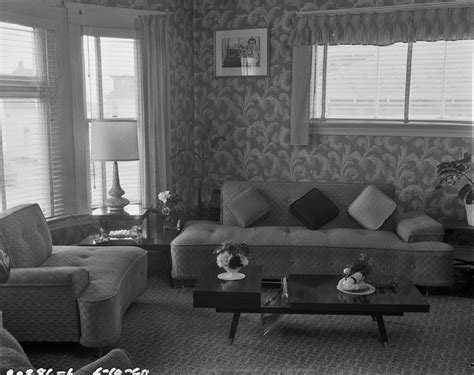 living room 1960 flickr photo