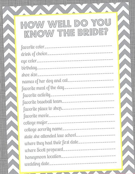 printable bridal shower games for free special wednesday top 5 free printable bridal shower games