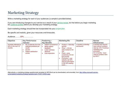 marketing communications plan template marketing communication plan template exle write