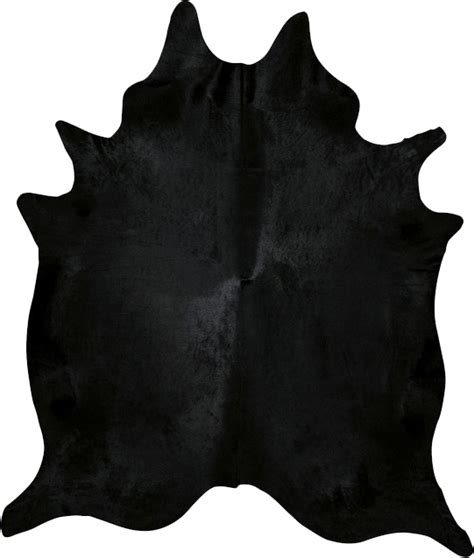 black cowhide rug enhance your space with a black dyed cowhide rug