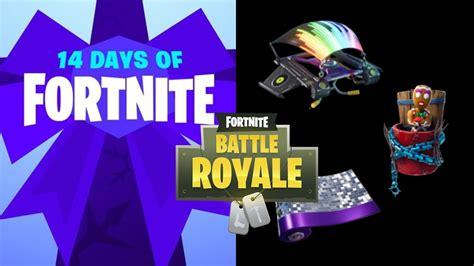 reward    days  fortnite holiday event