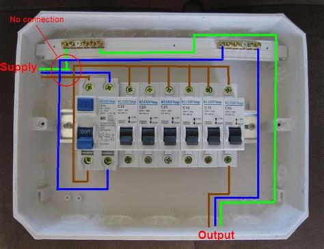 distribution board wiring diagram electrical engineering blog distribution board home