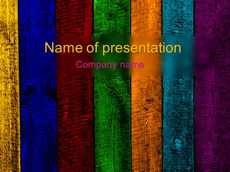 Download Free Rainbow Powerpoint Template For Your Presentation Rainbow Powerpoint Template Free