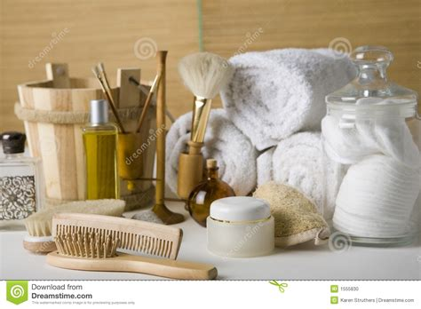 bathrooms products various bathroom products stock photo image 1555830