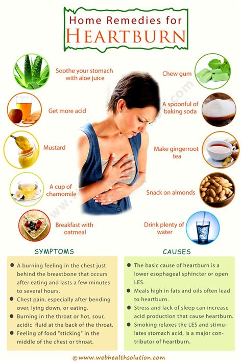 easy to get home remedies for heartburn relief all to health