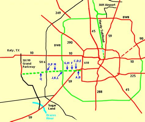 texas toll map westpark tollway map images