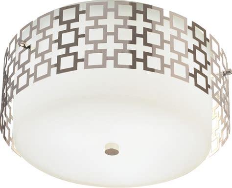 Jonathan Adler Ceiling Light by Jonathan Adler Flushmount Polished Nickel Flush Mount Ceiling Lighting