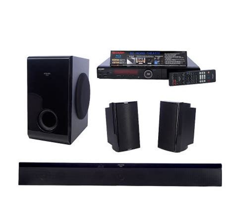 sharp aquos disc 1020 watt home theater speaker