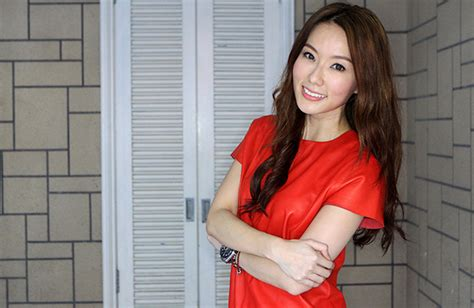 invisalign commercial actress yvonne lim moves to taiwan leaving hong huifang in tears