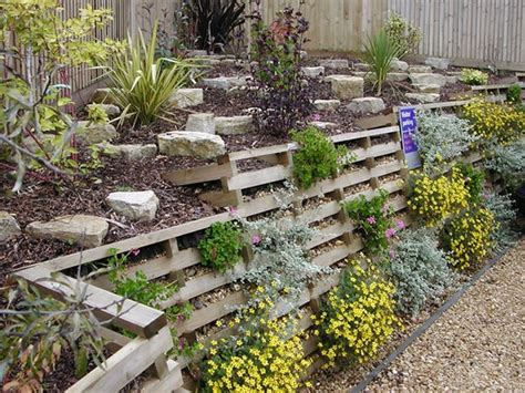 Timber Crib Retaining Walls by 15 Unique Landscaping Timber Projects And Ideas Planted Well