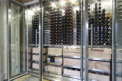 Floor And Decor Phoenix Az Vin De Garde Custom Stainless Steel Wine Cabinet