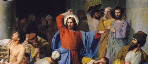 jesus cleanses the temple jesus cleanses the temple of the moneychangers