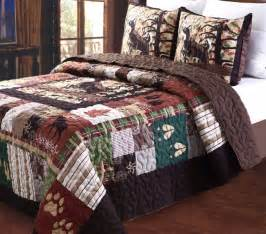 Lodge Bedding Sets Total Fab Rustic Lodge Log Cabin Themed Bedding Sets