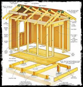 8 x 16 shed plans free build a bicycle shed speedily and