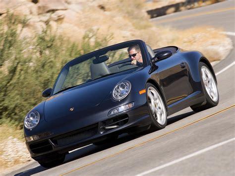 porsche 911 convertible black 2007 black porsche 911 carrera 4s cabriolet wallpapers