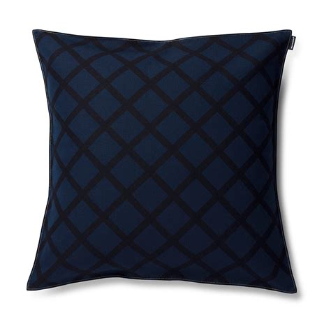 Navy Pillows by Marimekko Quilt Navy Throw Pillow Marimekko Throw