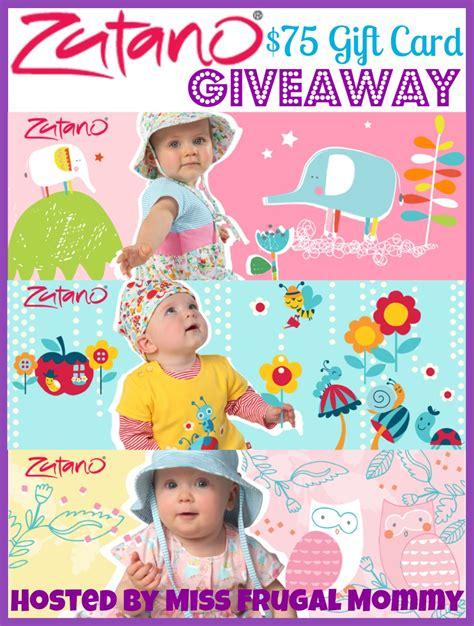 zutano 75 gift card giveaway miss frugal mommy - Zutano Giveaway