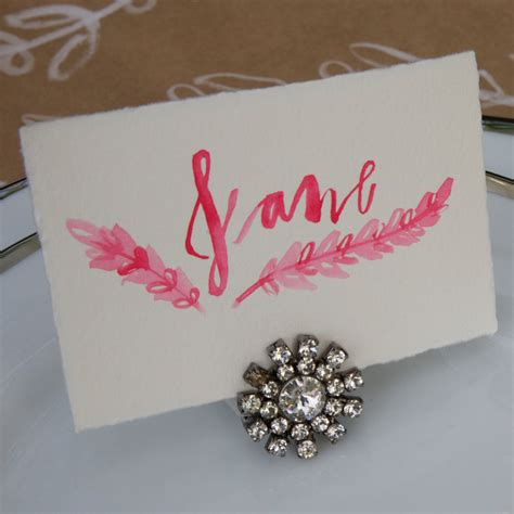 diy place cards wedding placecard holders cheap wedding place cards