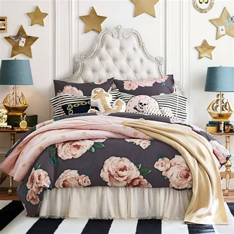 Parisian Duvet Cover Gorgeous Glam Emily Meritt Pottery Barn Teen Home Decor