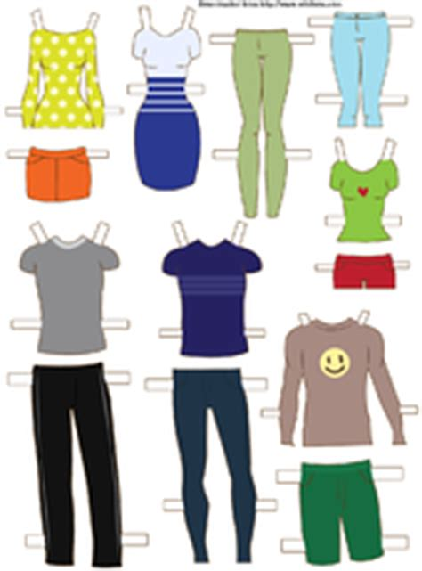 How To Make Paper Dolls And Clothes - 3 ways to make paper dolls wikihow